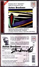Stanislaw SKROWACZEWSKI Signiert BRUCKNER Sinfonie Nr.8 Saabrücken Symphony 2CD