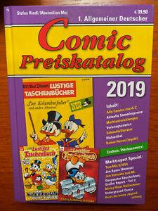 COMIC PREISKATALOG 2019,  Hardcover, Stefan Riedl