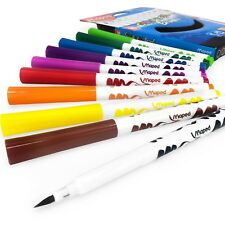 Maped Color 'Lápices Cepillo Pens – Rotuladores - Cartera de 10 Varios Colores