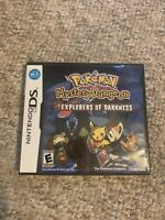 Pokemon Mystery Dungeon: Explorers of Darkness (Nintendo DS, 2008) Used Complete