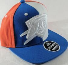 a2b15aaeb3557 LZ Adidas Adult One Size OKC Thunder NBA Basketball Baseball Hat Cap NEW F23