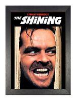 The Shining Stephen King's Horror Film Poster Nicholson Movie Star Scary Photo