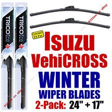 WINTER Wipers 2-Pack Premium Grade fit 1999-2001 Isuzu Vehicross - 35240/170