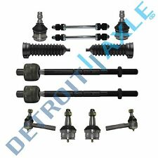 12pc Ball Joint Inner Outer Tierod Sway Bars Kit Ford Ranger Fits 2wd Only Fits Ford Ranger