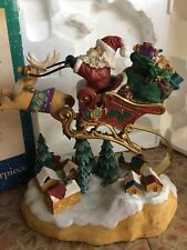 Traditions Christmas Centerpiece Holiday Decoration Santa Delivering Toys