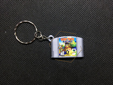 Diddy Kong Racing 3D CARTRIDGE KEYCHAIN Nintendo 64 N64 collectible