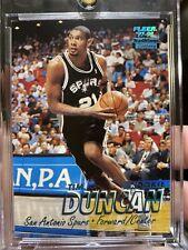 1997-98 Fleer Traditions Tiffany Tim Duncan RC Rookie San Antonio Spurs SP #201