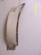 1991 BROUGHAM LEFT REAR DOOR POST DOG LEG TRIM MOLDING OEM USED CADILLAC WHITE