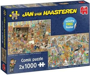 Jan Van Haasteren A Trip to the Musuem Jigsaw Puzzle (2 x 1000 Pieces)