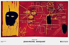 Florence by Jean-Michel Basquiat Art Print 2002 Italy Pop Poster 25.5x35.75