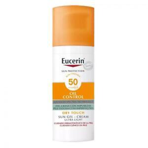 EUCERIN SUN OIL CONTROL DRY TOUCH SPF50+ GEL CREAM 50ml