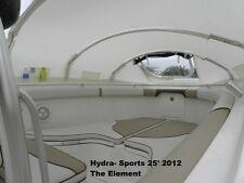 Hydra-Sports shade center console boat BOW DODGER, boat tent, boat cover canopy