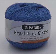 Patons Regal Cotton 4 Ply #2795 Marine Blue 50g