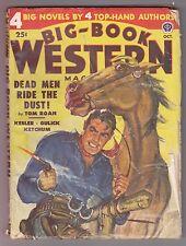 Big Book Western Oct 1949 Pulp Robert Moore Williams Philip Ketchum Tom Roan