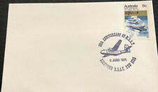 Australian Fdc 1971 50th Anniversary Of R.A.A.F