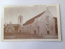 Saint Therese Church Appleton Wisconsin Real Photo Postcard. Rare. Postage 1954