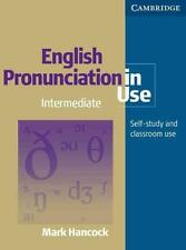 ENGLISH PRONUNCIATION IN USE WITH ANSWERS HANCOCK  MARK Occasion Livre