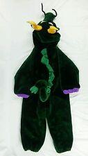 CHOSUN Green Dragon Costume Childrens Sz L (5/6) Zipper Up Deluxe Plush