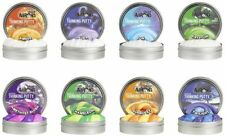 "Crazy Aaron's Thinking Putty Mini Tin Complete Bundle Gift Set 8 PACK 2"" tins"