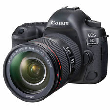 Canon EOS 5D Mark IV DSLR Camera with 24-105mm f/4L II Lens USA Model brand New