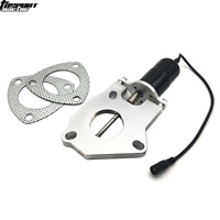 """2"""" 51mm Racing Electric exhaust Exhaust Cutout Valves Control Motor Kit Bolt-On"""