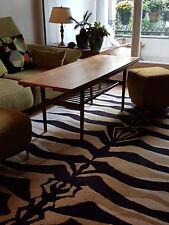 table basse scandinave en teck massif année 50/60 vintage/design