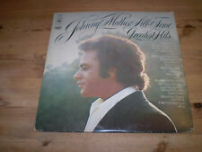 JOHNNY MATHIS TOUS LES TEMPS GREATEST HITS DOUBLE VINYLE GATEFOLD LP,
