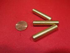 "Brass Dowel Shear Pins 5/16"" Dia x 1 1/4"" Length, 3 Pieces"