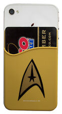 Star Trek Command Symbol Captain Kirk Phone Card Holder TOS Icon New Mint