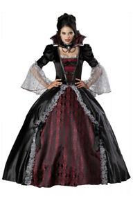 New Ladies Halloween Dead Bride Vampire Scary Witch Zombie Dead Fancy Dress
