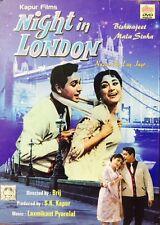 Night In London - Biswajeet, Mala - Hindi Movie DVD Region Free English Subtitle