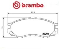 P54020 Kit pastiglie freno, Freno a disco (MARCA-BREMBO)