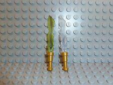 LEGO® Ninjago™ 2x Erdschwert Blitzschwert Cole Kai Waffen K201