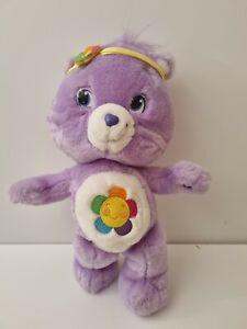 Care Bear Harmony Bear 2007 40cm purple