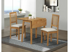 Solid Wood Up to 2 Seats Traditional Table & Chair Sets