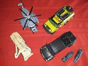 Transformers Ratchet Ironhide Bonecrusher & Blackout