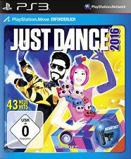 Just Dance 2016 para PlayStation 3 ps3 | mercancía nueva | versión alemana!