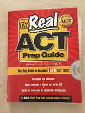THE REAL ACT OFFICIAL PREP GUIDE SECOND EDITION INCLUDES 3 REAL ACT TESTS