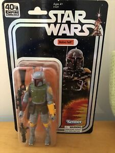 """Boba Fett 2019 40th Anniversary 6"""" The Black Series STAR WARS SDCC Exclusive #2"""