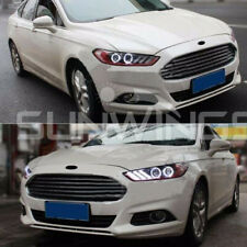Headlights For 2013-2015 Ford Mondeo Fusion DRL LED Projector Mustang Style