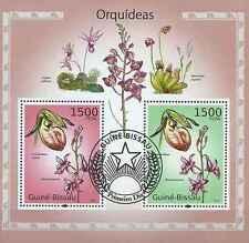 Timbres Flore Orchidées Guinée Bissau BF543 o année 2010 lot 18997 - cote : 16 €
