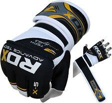 Authentieke RDX Handschoenen Voor Boksen, MMA En Muay Thai Yellow/Black NL M