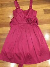 Pink formal dress size 10 cocktail party as new lined Target rrp$89