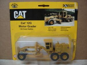 NORSCOT CATERPILLAR  CAT 12G MOTOR GRADER 1:64 SCALE DIE-CAST METAL  55703
