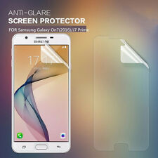 Plastic Screen Protector For Samsung Galaxy J7 Prime - Matte/Anti-Glare