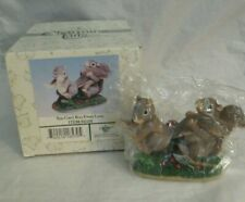 """New ListingFitz & Floyd Charming Tails """"You Can'T Run From Love"""" Figurine #84/104 Iob"""