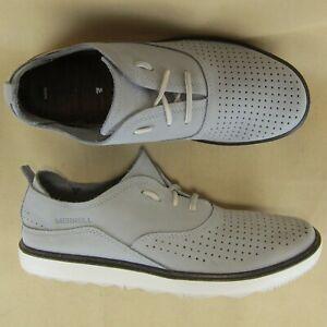 Merrell Sleet US 8.5 EU 39 Women Select Grip Move Fashion Sneaker Nubuck Gray