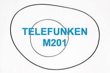 SET CINGHIE TELEFUNKEN M 201 TS REGISTRATORE A BOBINE BOBINA NUOVE FRESCHE M201