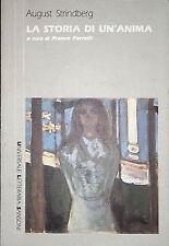 AUGUST STRINDBERG LA STORIA DI UN'ANIMA SANSONI 1988