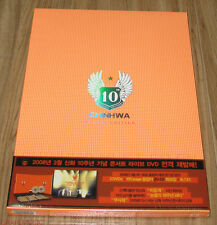 SHINHWA 10th Anniversary Concert Live Orange Edition DVD + FOLDED POSTER SEALED
